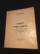 Gason Pierre-Marie - L'almanach de Mathieu Laensbergh - 1965 - 1/60 - R2