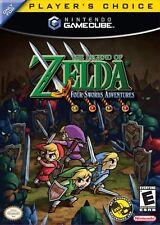 Zelda Four Swords Adventure Nintendo Gamecube Game Complete