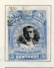 Peru 1905-21 Early Issue Fine Used 5c. 182355
