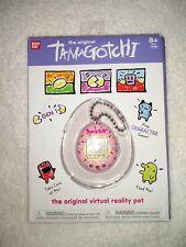 Tamagotchi Original Gen 1 2018 Virtual Reality Pet from Bandai. Pink. New!