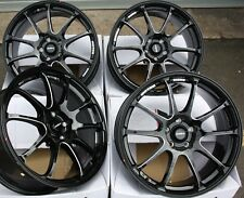 "ALLOY WHEELS 17"" BLACK P FRICTION FOR AUDI 80 90 MAZDA 121 2 SAAB 900 4x108"