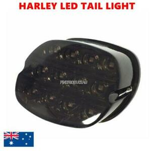 LED Brake License Plate Tail Light Harley Night Train FXSTB Road King Electra XL