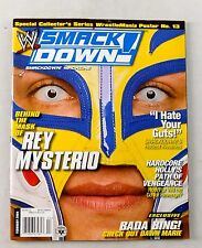 Rey Mysterio February 2004 Smackdown Wrestling Magazine RAW 2-Sided Poster