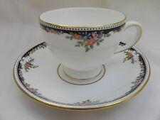 Wedgwood Osborne Tea Cup 8.5cm x 6.5cm & Piattino 14.5cm, eccellente.