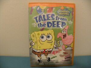SPONGEBOB SQUAREPANTS Tales From the Deep - DVD - REGION 4 - GC