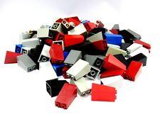 Lego City Exponer Piedras Pared Del Castillo Caballero Inclinada Gris Negro Rojo