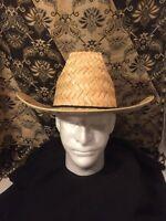 CLASSIC Straw Cowboy Hat/ Small Unisex