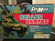 New listing SteMax Female Roller Skates, size 37, used once, slightly used in a box.