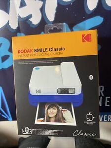 KODAK Smile Classic Digital Instant Camera with Bluetooth (Blue) Starter Kit