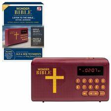Wonder Bible KJV- The Talking Audio Player, New & Old Testament, As Seen on TV