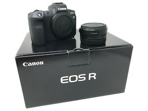 Canon EOS R Mirrorless Digital Camera + R mount adapter UK NEXT DAY DELIVERY