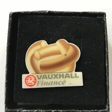 Vauxhall FINANCE 1 Pin Badge  Enamel Collectors Item  Great Condition Freepost