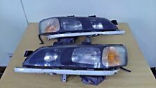 JDM HONDA ACCORD CL1 CF4 CF6 EURO-R OEM SIR HID XENON BLACK HEADLIGHT SET