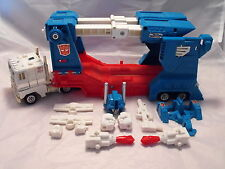 TRANSFORMERS GENERATION 1, G1 AUTOBOT FIGURE ULTRA MAGNUS COMPLETE, RUBBER TYRES