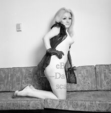 1960s Negative-sexy nude blonde pinup girl Carla Green-cheesecake t52974