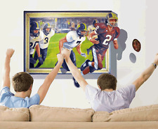 3D Sport Football Art Wall Sticker Vinyl Decals Removable living Bedroom Decor