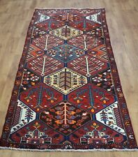 Traditional Vintage Wool Handmade Classic Oriental Area Rug Carpet 286cmX103cm