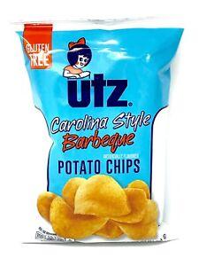 UTZ - Carolina Style BBQ - Potato Chips - 2.875oz (Choose 2 or 3 Bags)