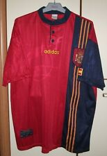 Spain 1996 - 1998 Home football shirt jersey camiseta adidas size 2XL