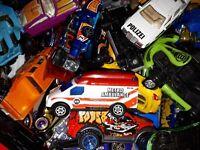 1 Kg Spielzeugautos LKW Konvolut Hot Wheels, Matchbox und andere Hersteller