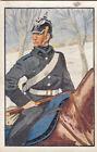 Prussia Dragoon Regiment N°6 1870 Deutsches Heer Germany Uniform IMAGE CARD 30s