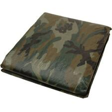 Camouflage Tarp 8 x 10 ft. Durable Polyethylene UV protection Plastic Sheeting