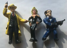 Vintage Dick Tracy Action Figure Applause Lot