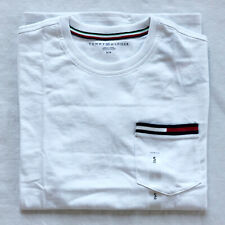 Tommy Hilfiger T-Shirt Mens Crew Neck Tee Classic Fit Short Sleeve Essential Poc