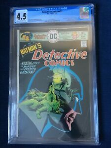 Detective Comics #457 CGC 4.5 First Appearance of Leslie Thompkins - Batman 1976