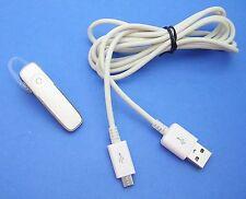 Plantronics M155 Bluetooth Wireless Headset WHITE for APPLE iPhones SmartPhones