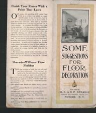 Some Suggestions for Floor Decoration Brochure Sherwin Williams Paint