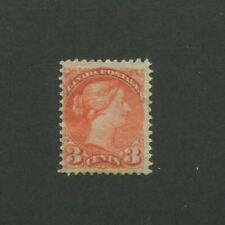 1873 Canada Postage Stamp #37 Mint F/VF Disturbed Original Gum