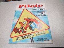 PILOTE LE JOURNAL D ASTERIX ET D OBELIX N° 309 23 septembre 1965 + PILOTORAMA *