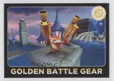 2013 Topps Activision Skylanders Giants #68 Golden Battle Gear Card 8y9