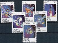GUINEA-BISSAU, 1983, Raumfahrt 1.00 P - 20.00 P (6 W.) gest.