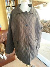 Veste mi-saison marron Femme TED LAPIDUS T46/48 woman jacket sz XL Abrigo mujer