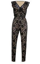 Unbranded Women's V Neck Short Sleeve Jumpsuits & Playsuits
