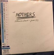 Frank Zappa MOTHERS FILLMORE EAST JUNE 1971 Japan Mini-LP CD VACK-1213 Mothers