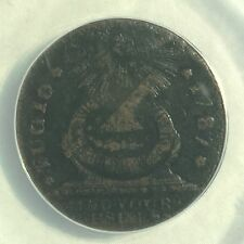 Rare Variety - 1787 FUGIO CENT  COLONIAL COIN / TOKEN