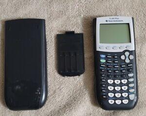 TI-84 Plus Graphing Calculator Black w/ Cover