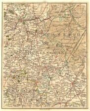 EAST ENGLAND.Isle of Ely Fens Cambridge Peterborough Bedford Hunts.CARY 1794 map