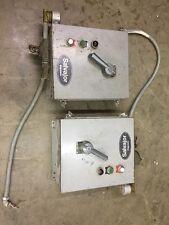 2 Control Boxes Salvajor Waste Garbage Disposal Motor Control