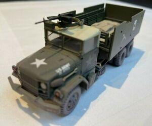 Corgi US50206 Unsung Heroes M35 Gun Truck 'Gamblers' Diecast Model 1:50 Scale