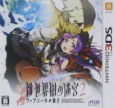 NEW Nintendo 3DS Shin Sekaiju no Meikyuu 2 JAPAN REGION LOCKED Game Soft Japan