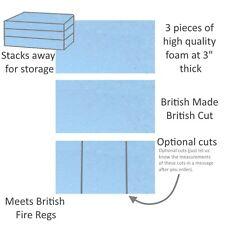 Back of van mattress fold stack away foam cut to size many foam type boot