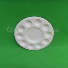 Artist Painting Pallet Plastic Round Palette Paint Wholesale Crafts Art Supply