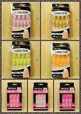 New 24Pcs Candy Gel Color Artificial False Fake Acrylic Nail Art Full Tips