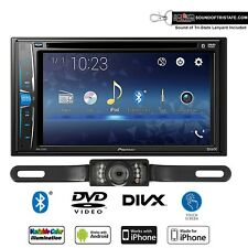 New listing Pioneer Avh-221Ex Multimedia Dvd-Receiver with License Plate style Backup Camera