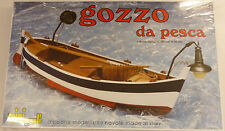 C. Mamoli 1/28 Scale Gozzo da Pesca Wood Fishing Boat Model Kit MM70