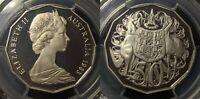 1983 Proof Fifty Cent 50c Australia PCGS PR68DCAM FDC UNC